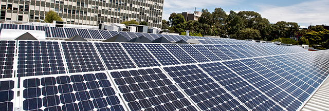 Fraser & Mountain – Monash University Clayton. Installation of 1 Megawatt Solar Heating System.